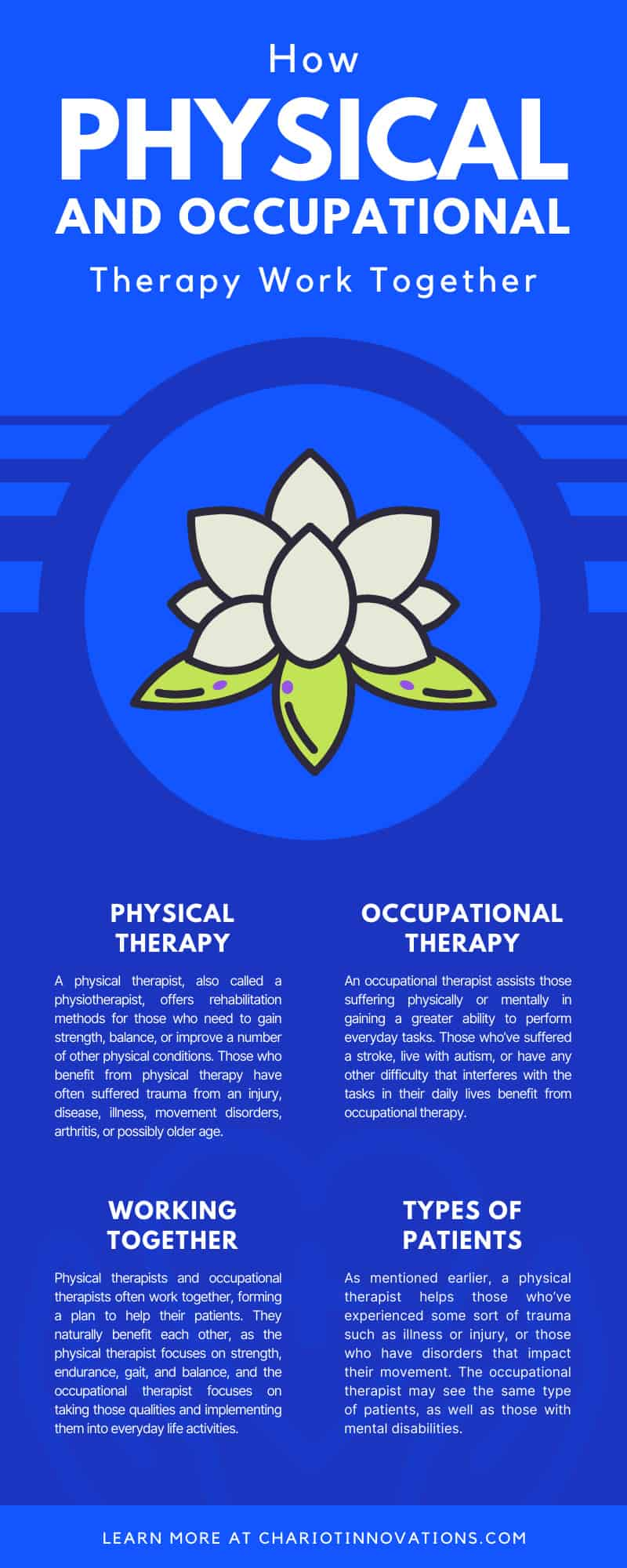 How Physical and Occupational Therapy Work Together